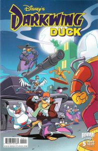 Darkwing Duck #5 cover