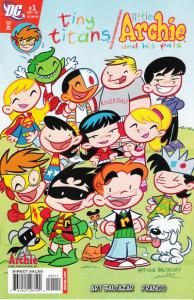 Tiny Titans/Little Archie #1 cover