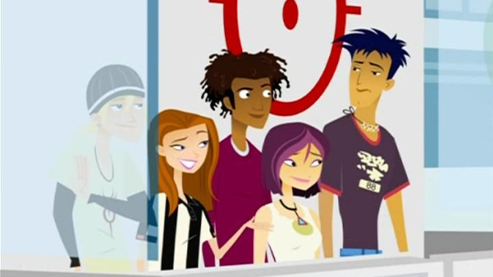 The cast of 6Teen
