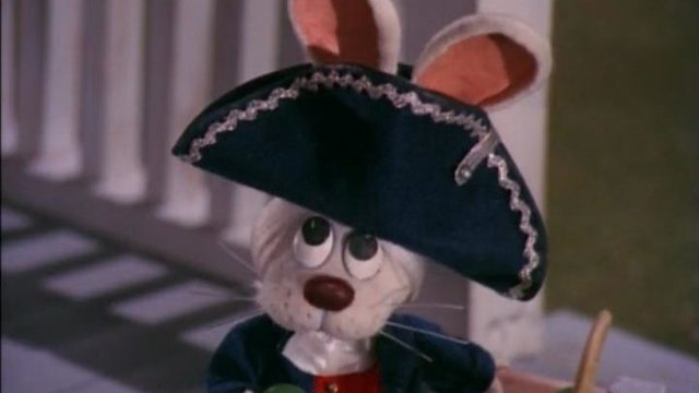 Peter Cottontail as George Washington