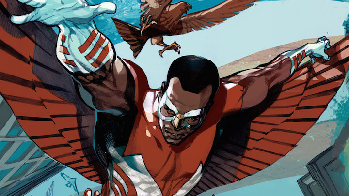 Black animated and comic characters: The Falcon