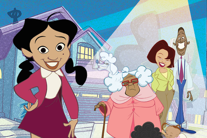 Black Animated And Comic Characters The Proud Family Diverse