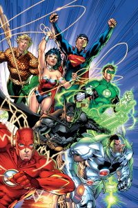 Justice League #1 (September 2011) cover