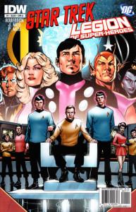 Star Trek/Legion of Super-Heroes #1