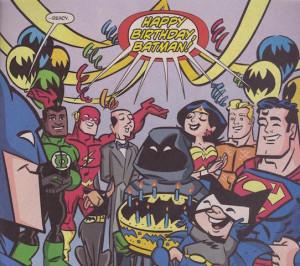Batman's birthday (Super Friends)