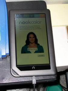 Nook Color setup