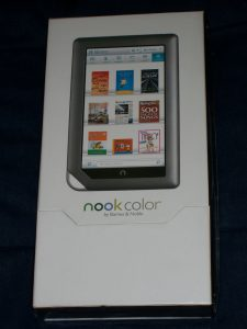 Nook Color still in its box