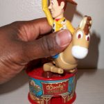Woody and Bullseye candy dispenser opening #2