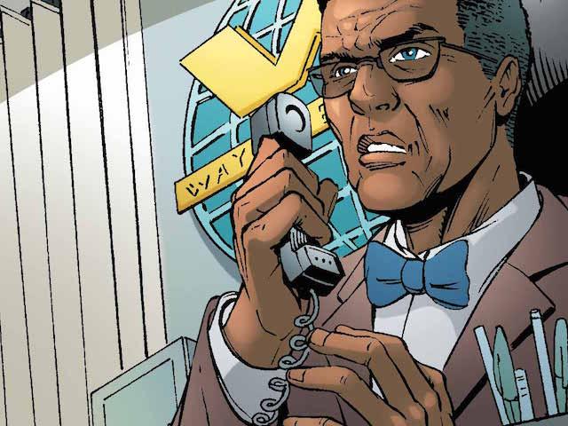 Minorities in cartoons: Lucius Fox