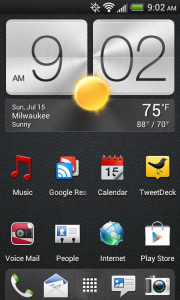 HTC One V screenshot #1