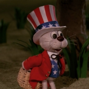 Peter Cottontail on Independence Day