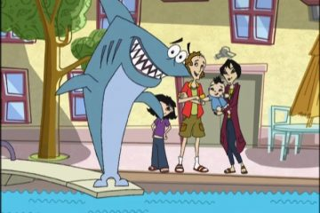 "The cast of ""Kenny the Shark"""