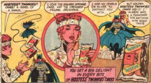 Batgirl and Twinkies