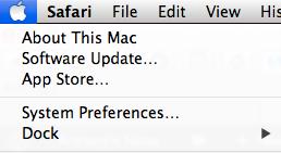 OS X system updates