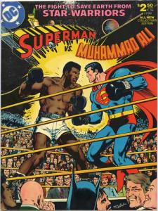 Superman versus Muhammad Ali