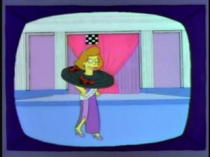 Miss Indiana on The Simpsons
