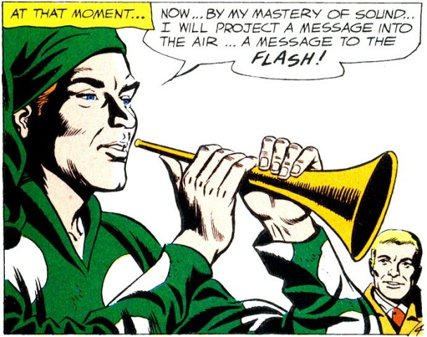 """The Pied Piper from """"The Flash"""""""