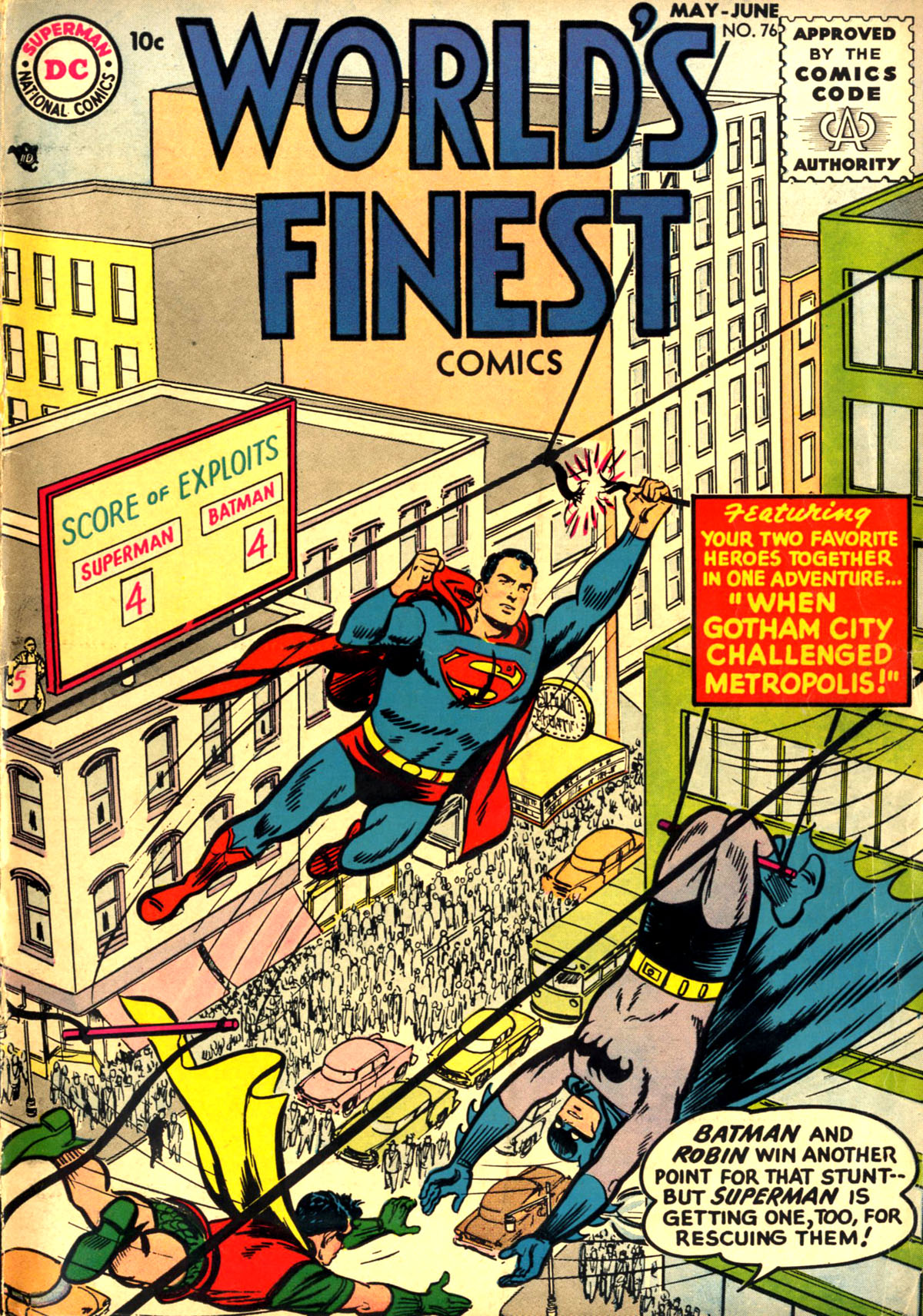 World's Finest Comics #76