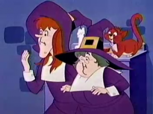 Filmation Aunts and Salem