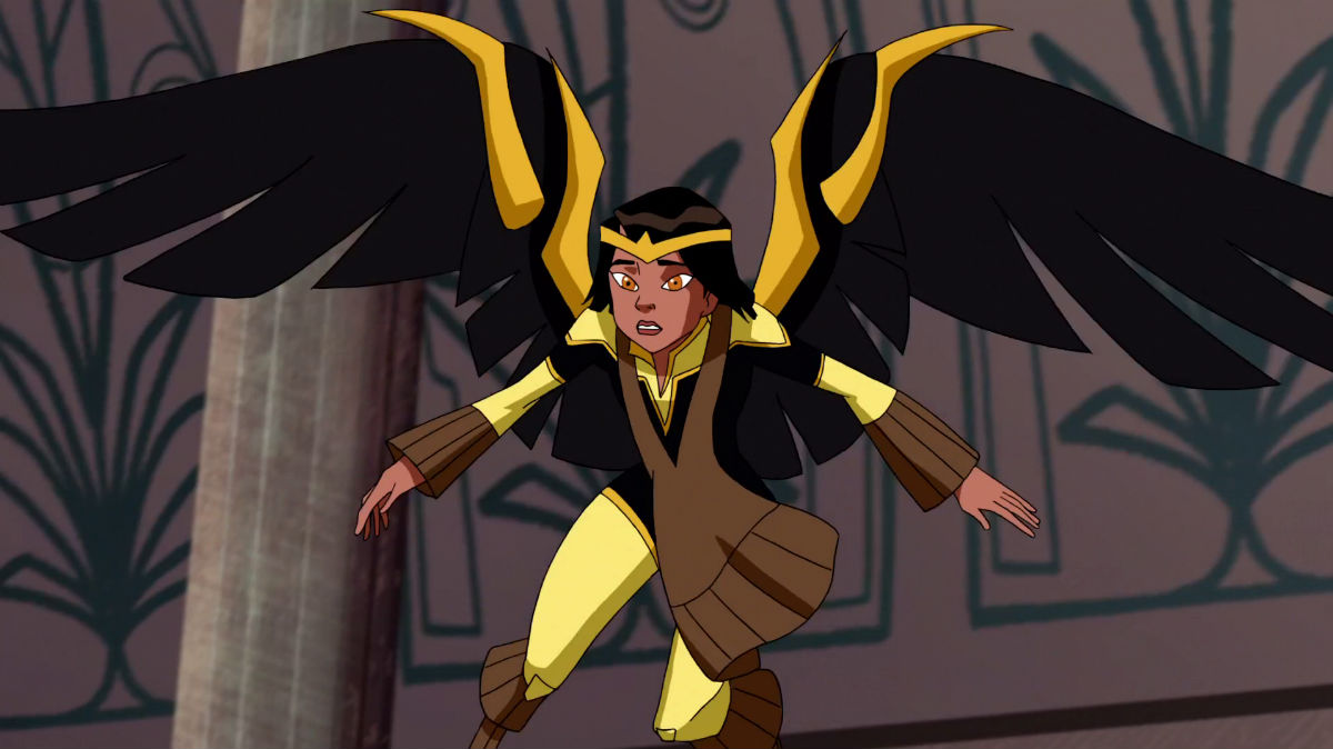 Dawnstar in JLA: Trapped in Time