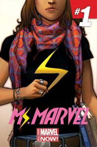 Ms. Marvel #1 (April 2014) cover