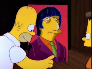 The Simpsons and Ringo Starr