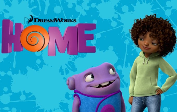 "Oh and Tip from Dreamworks' ""Home"""
