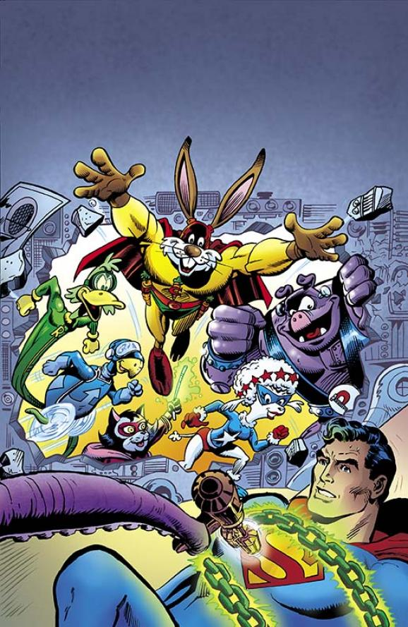 Showcase Presents Captain Carrot and His Amazing Zoo Crew