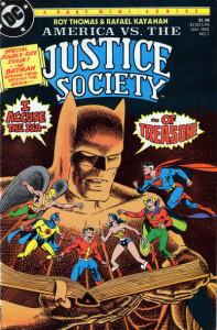 America vs. the Justice Society