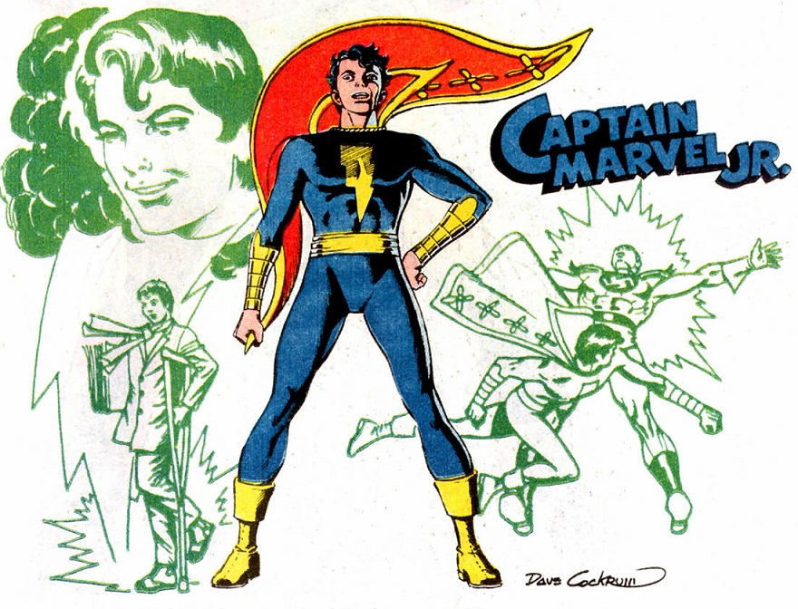"Capt. Marvel Jr. in ""Who's Who"""