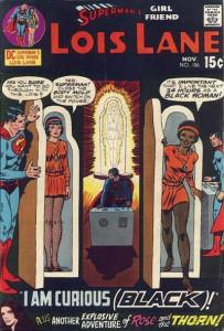 Lois Lane as a Black woman