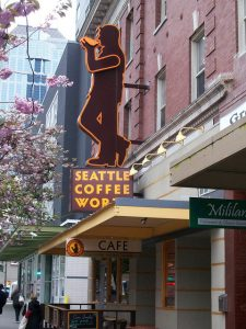 Seattle coffeeshop
