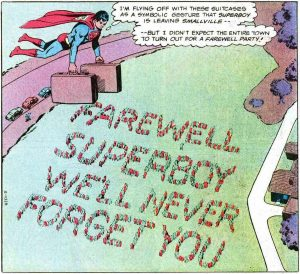 The pre-Crisis Superboy's last day in Smallville
