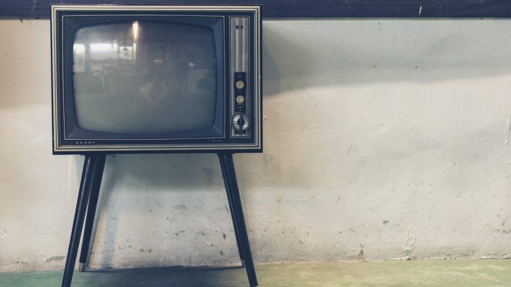 1960s era TV set
