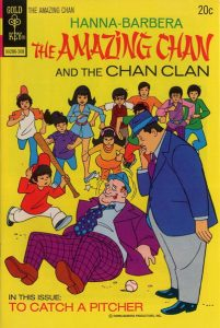 The Amazing Chan and the Chan Clan comic cover