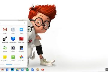 Chromebook with Mr. Peabody & Sherman