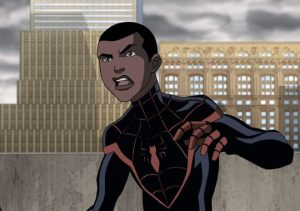Miles Morales on Ultimate Spider-Man