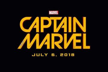 Captain Marvel film logo