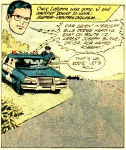 "Superman uses super-ventriloquism in ""Superman Family"" #208 (July 1981)"