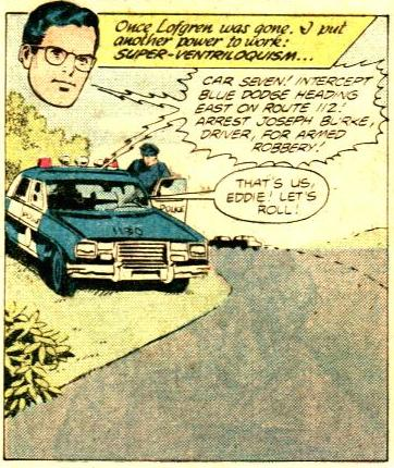 """Superman uses super-ventriloquism in """"Superman Family"""" #208 (July 1981)"""