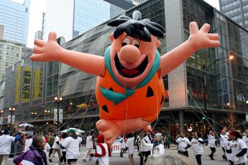 Fred Flintstone balloon