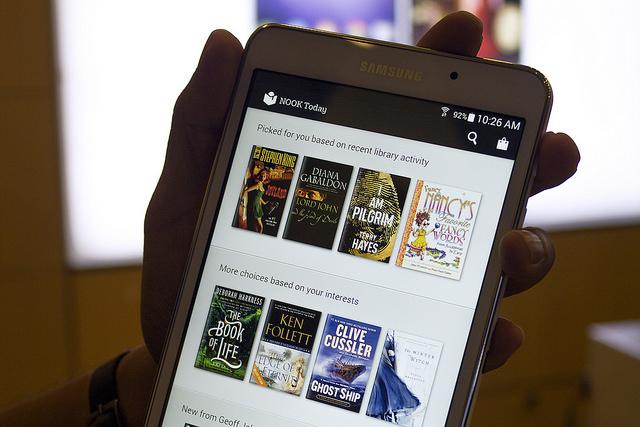 Samsung's Nook tablet