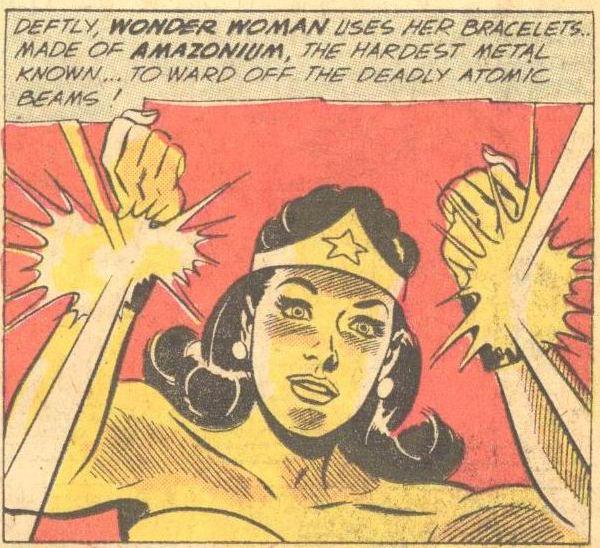 Wonder Woman's bracelets