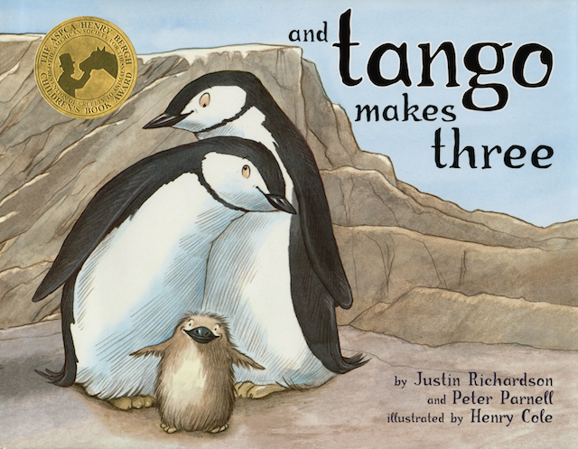 """And Tango Makes Three"" cover"