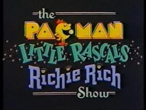 Pac-Man/Little Rascals/Richie Rich