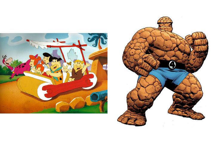 The Flintstones and the Thing