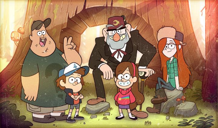 """Gravity Falls"" cast"