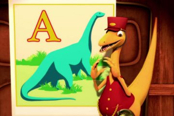 Mr. Conductor of Dinosaur Train