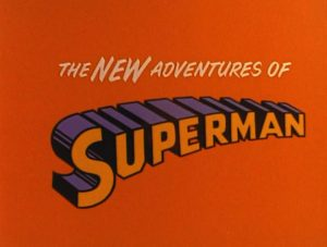 """The New Adventures of Superman"" title card"