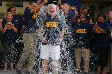 AFGE in ice bucket challenge